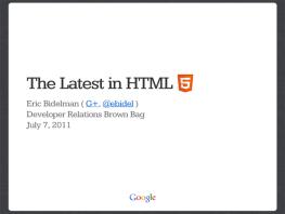 HTML 5のお勉強。Chrome限定