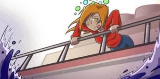 Ένα κόλπο για τη ναυτία στο αυτοκίνητο ή το πλοίο