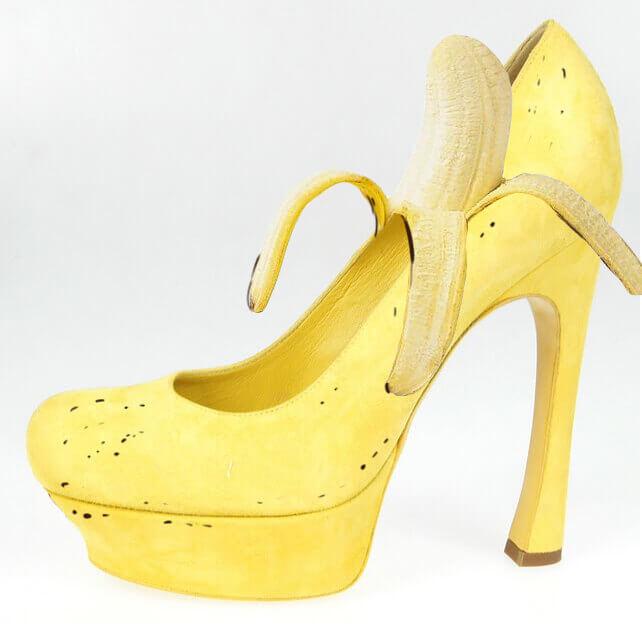 Ξέρεις γιατί η μπανάνα κάνει καλό στα παπούτσια;