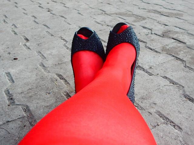 Γιατί νάιλον κάλτσα στο παπούτσι