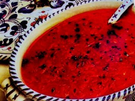 Σούπα ντομάτας με καρότα - συνταγή διαίτης