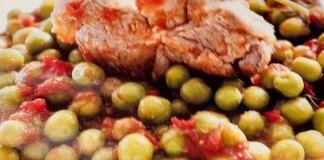 Αρνάκι με αρακά - νόστιμη συνταγή