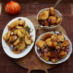 Τηγανητές πατάτες με βούτυρο και λάδι