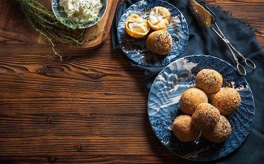 Καλογηρική Μαγειρική – Ταραμολουκουμάδες