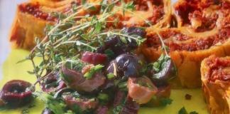 Στρούντελ με ελιές - νόστιμη συνταγή
