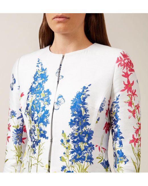 Παλτό φλοράλ Hobbs – 4 όψεις