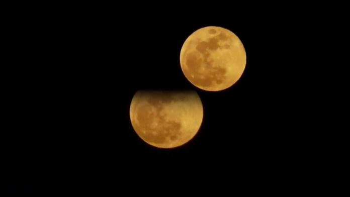Το Σούπερ Ματωμένο Φεγγάρι όπως το είδαμε στη Βούλα