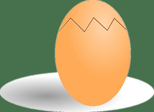 Πως θα βράσεις το αβγό που ράγισε