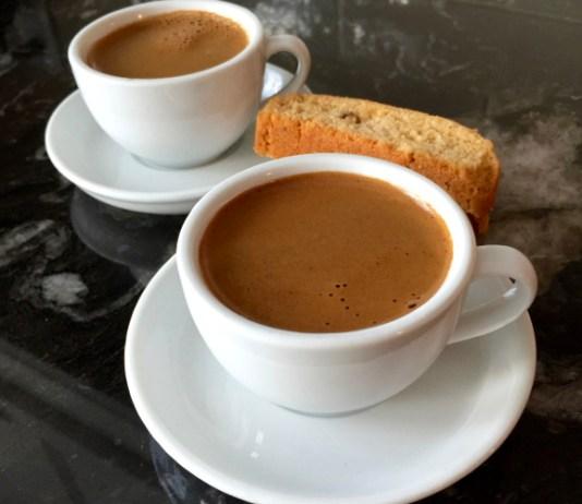Ελληνικός καφές με ταχίνι