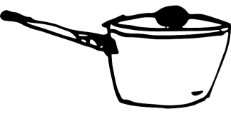 Κατσαρόλα με μαύρο πάτο