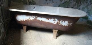 Η παλιά μπανιέρα έγινε ...