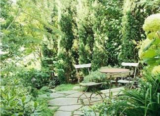 Όμορφες πράσινες γωνιές
