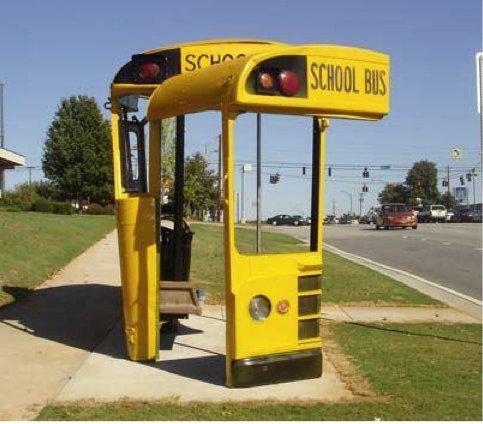 Ηταν κάποτε ένα σχολικό λεωφορείο