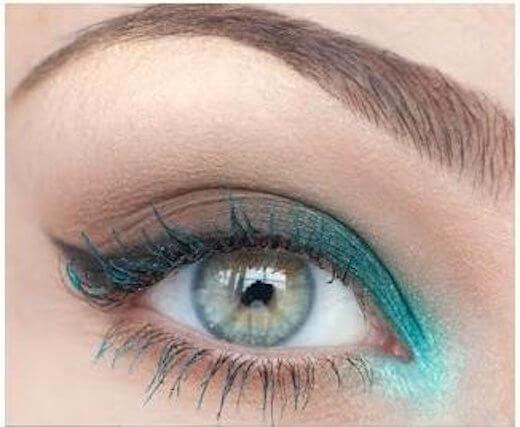 Μακιγιάζ ματιών για γαλαζοπράσινα μάτια – οδηγίες