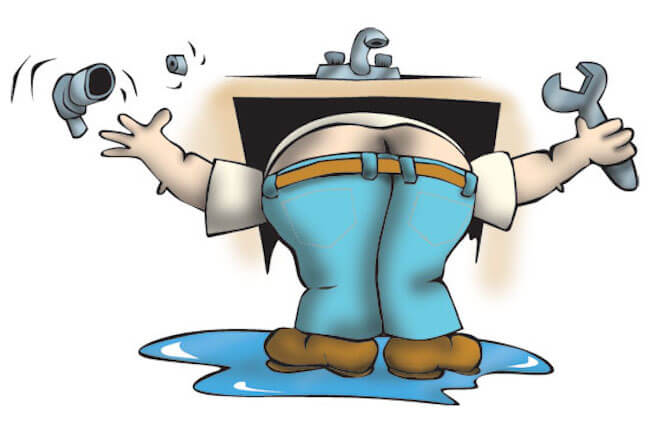 Ανέκδοτο - ο υδραυλικός