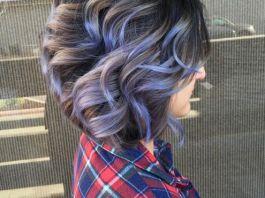 Σκούρα καστανά μαλλιά - ανταύγειες