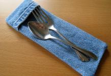 Τα μαχαιροπίρουνα στο τραπέζι