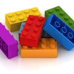 Πιάνο μολυβοθήκη με Lego