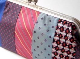 7 πορτοφόλια φτιαγμένα με παλιές γραβάτες