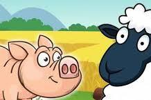 Αισώπου μύθοι - Το γουρουνάκι και τα πρόβατα