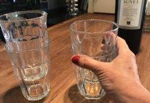 Τι θα κάνετε αν κολλήσουν τα ποτήρια μεταξύ τους;
