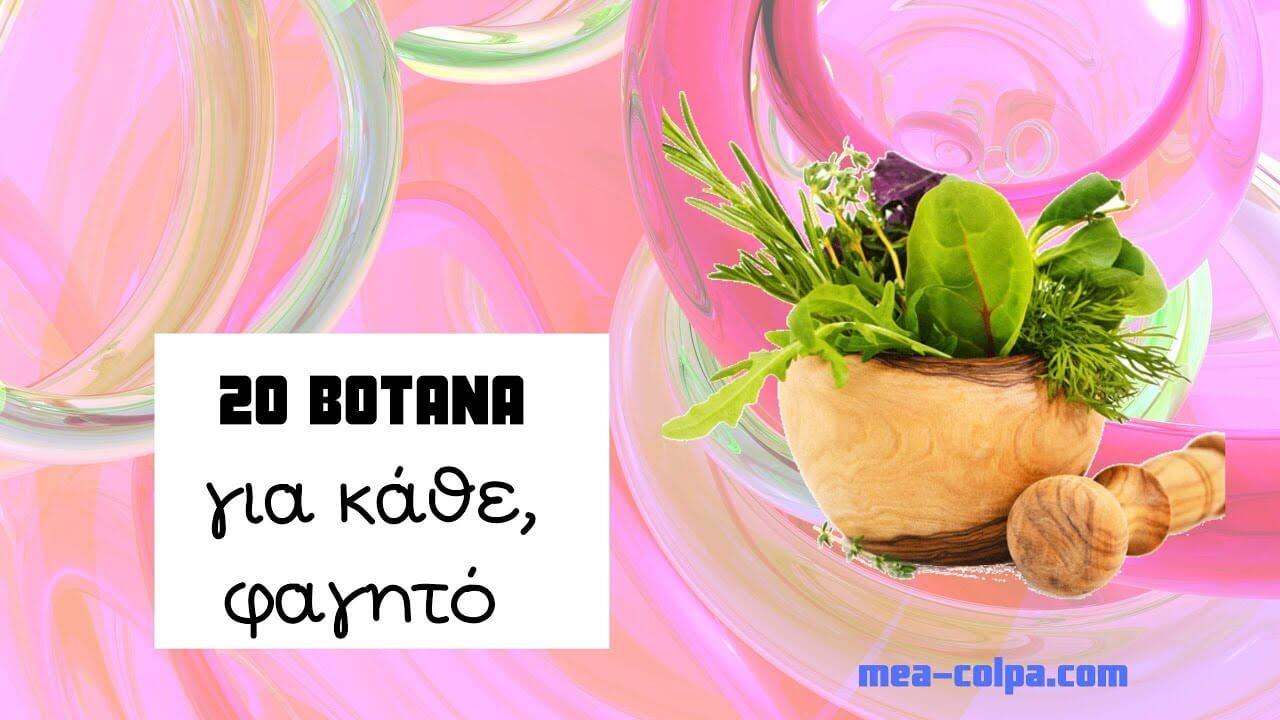 Κάθε φαγητό και βότανο