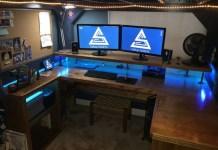 Το γραφείο στο σπίτι - φτηνές - έξυπνες κατασκευές