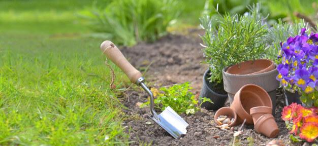 Προφυλάξτε τα μικρά εργαλεία κηπουρικής