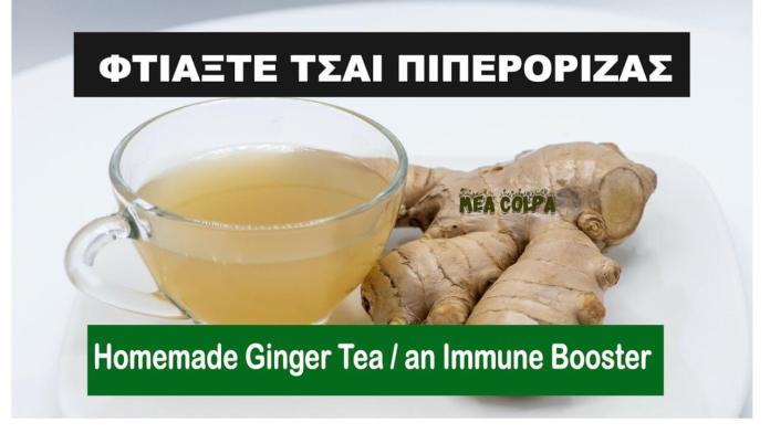 Φτιάξε τσάι πιπερόριζας