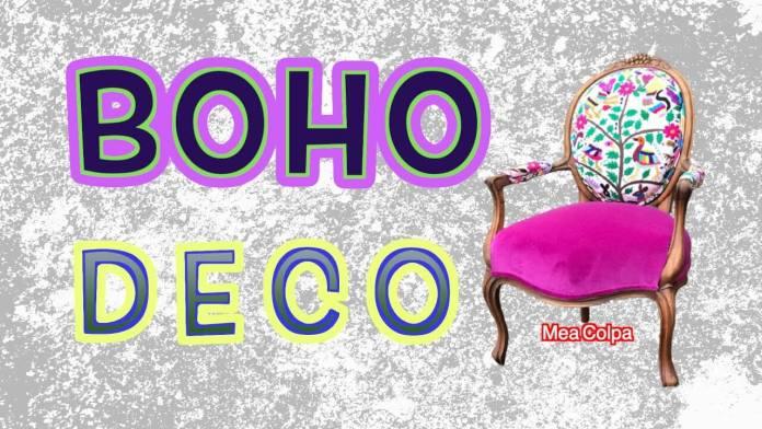 Boho Deco – Διακόσμηση