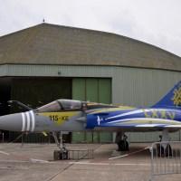 75 e anniversaire de l'escadron de chasse 2/5 « Ile de France » sur la BA 115