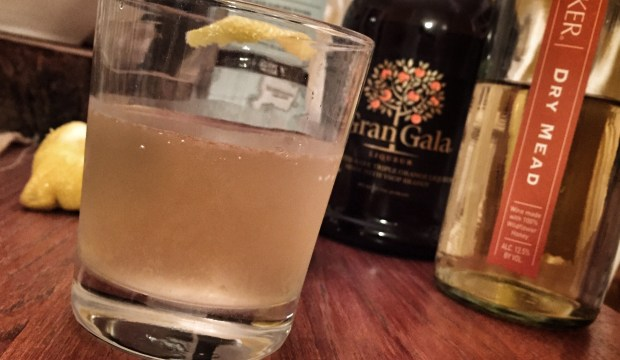 mead sour cocktail recipe