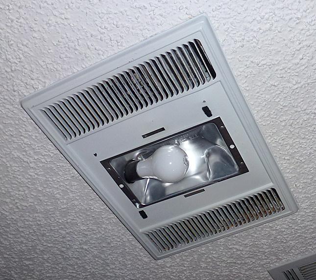 mr fix it heats up the bathroom