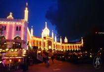 from Tivoli by night