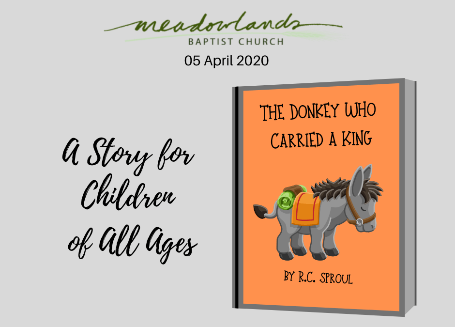 Special Children's Story Available for April 5, 2020