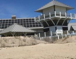 Pavilion with PV panels
