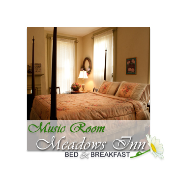 Meadows Inn New Bern NC, Music Room