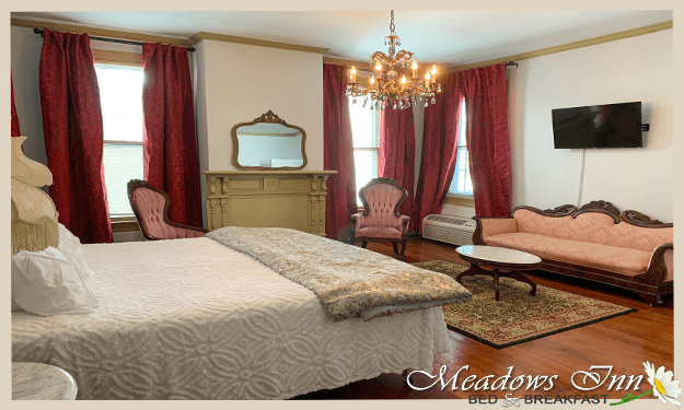 Meadows Inn, New Bern, NC, Josephine Room