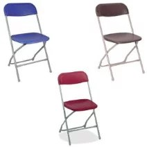 basic folding chair rentals