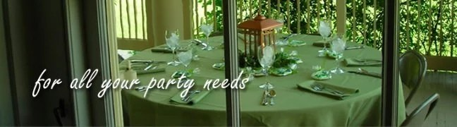 For all your party needs - Meadowvale Party Rentals