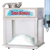 Equipment and Supply Rentals - Sno-Kone Machine