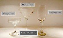 Glassware Rentals - Specialty Glasses