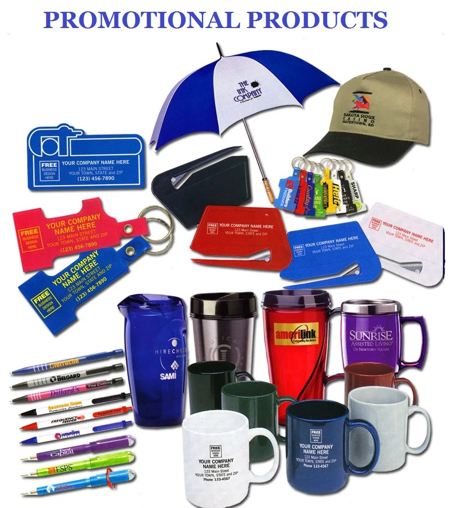 Giveaways and promotional material for your events by for Custom marketing materials