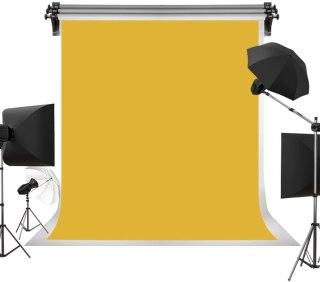 Backdrop portrait background - yellow