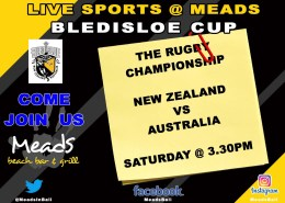 Meads Sports Live Bledisloe Cup