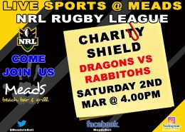RUGBY LEAGUE Charity Shield