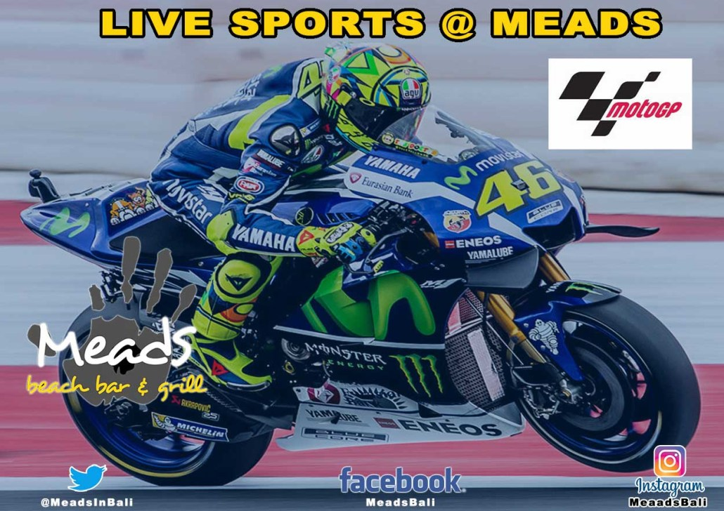 Meads in Bali Sports Moto GP