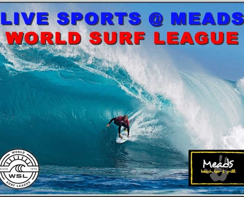 World Surf League Live At Meads In Bali