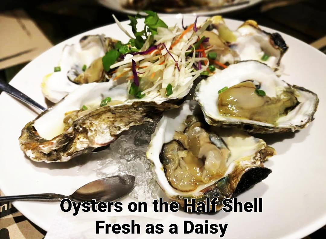 Oysters on the Half Shell Meads in Bali