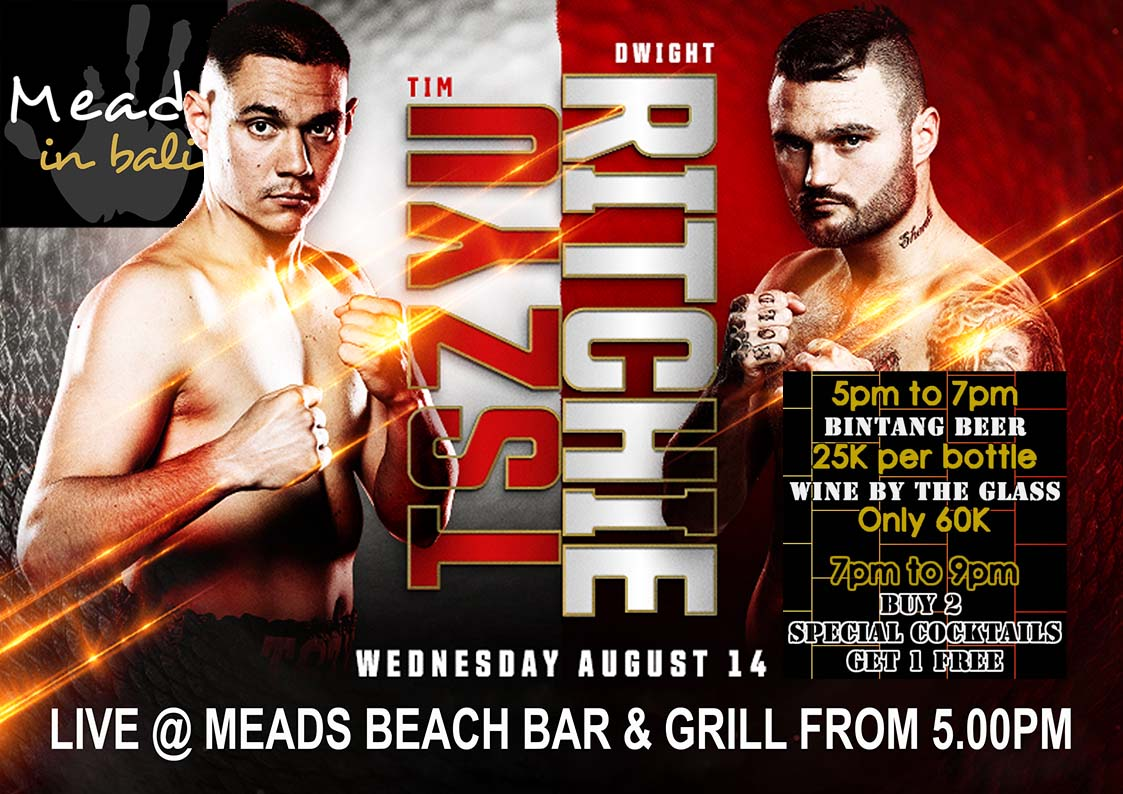 Meads in Bali BOXING